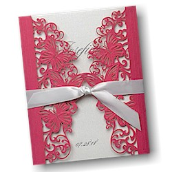 Invitations4less quinceaera invitations sweet 16 invitations brilliant butterflies quince aos invitation stopboris Gallery