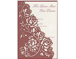 Regal Roses<BR>Quinceanera Invitation
