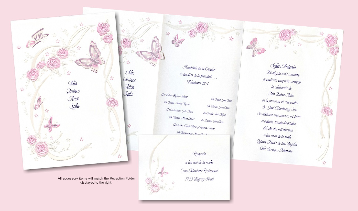 Photo Quinceanera Invitations Quince Anos | Party Invitations Ideas