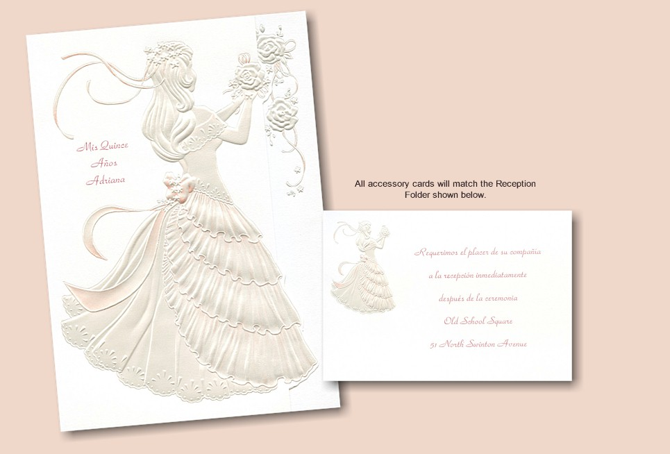 Quince Anos Invitation Samples