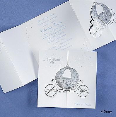 cinderalla invitations