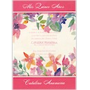 Brilliant Blossoms Quinceanera Invitation
