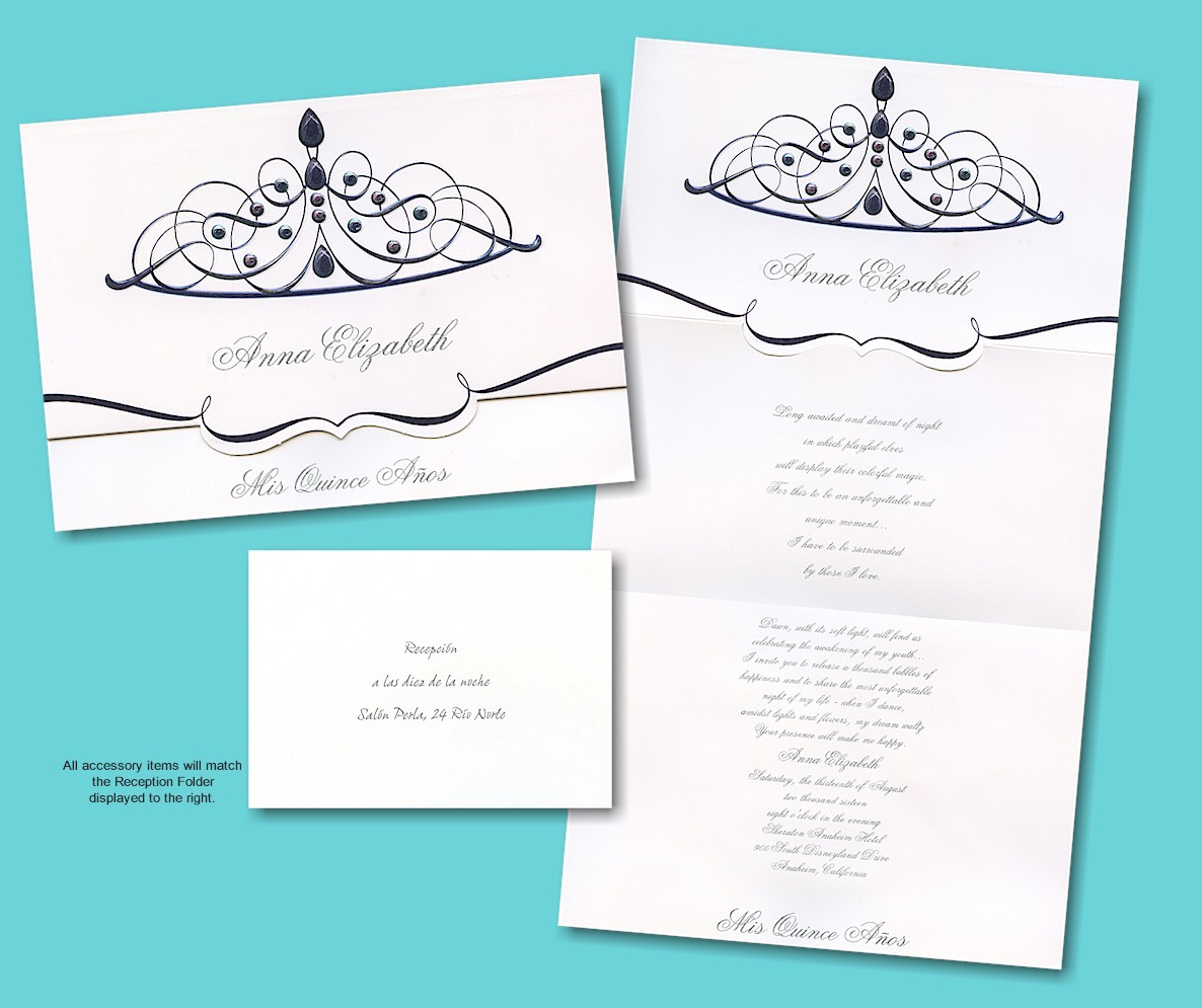 Invitations For Quinceaneras In Spanish is adorable invitation sample