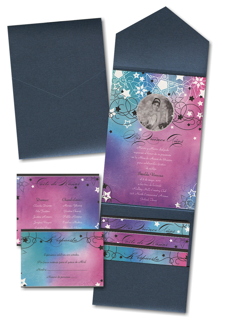 Pocket Wedding Invitation for awesome invitations ideas